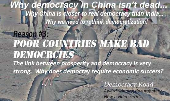 POOR COUNTRIES MAKE FOR BAD DEMOCRACIES